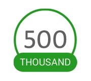 500Kdownloads
